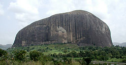 Zuma Rock Major Tourist Destination In Nigeria