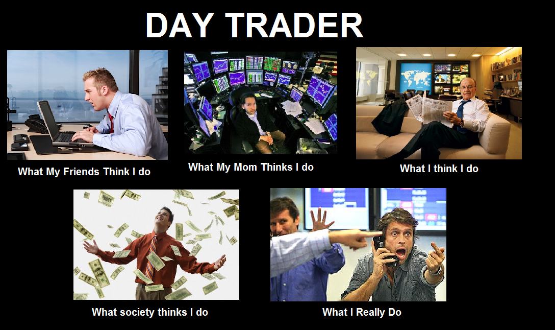 What does an options trader do