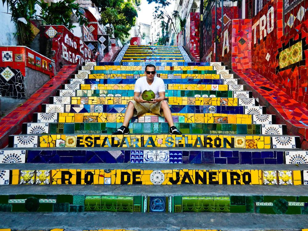 famous steps in rio