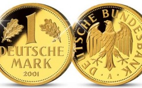 Gold Duetsche Mark