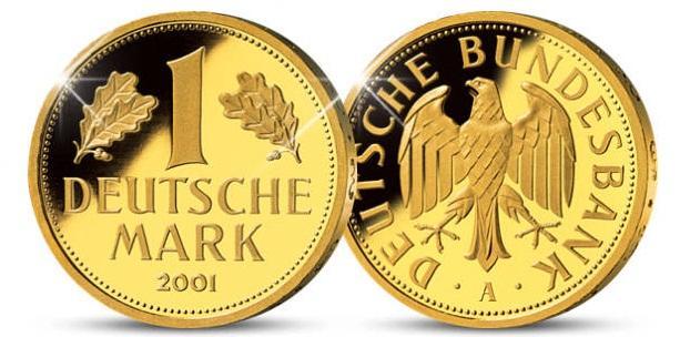 Gold Duetsche Mark