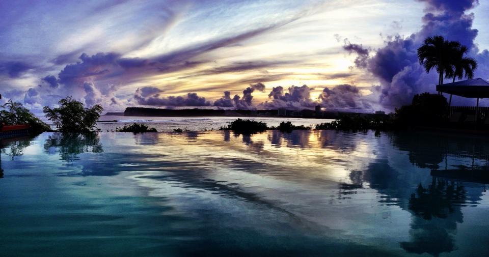 Sunrise in Guam