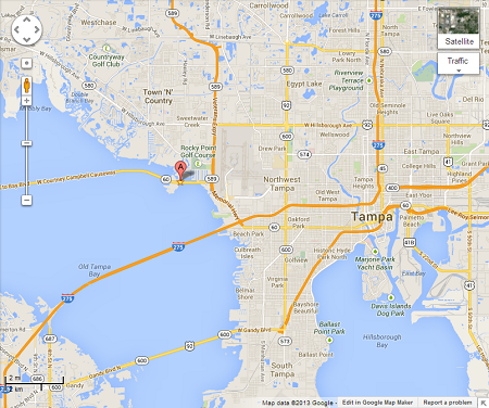 Westin Tampa Bay Location