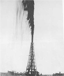 Oil Gusher United States 1901