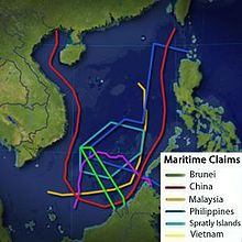 China's Claims in the South China Sea