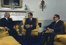 American President Nixon and Kissinger Setting Up The Petrodollar System