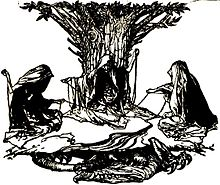 The Weaving Of Destiny By The Norns