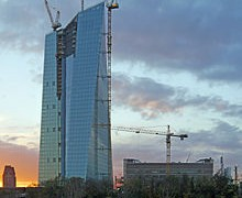 The New ECB  Headquarters In Germany To Be Completed in 2014