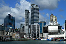 Auckland Harbor View