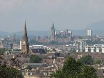 Glasgow Largest City And Industrial Center In Scotland