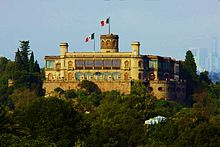 Castillo De Chapultepec A Major Tourist Attraction
