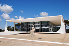 The Supreme Court Building In Brazil