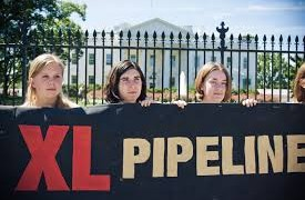 Demonstrations Against The Keystone Pipeline In 2011 Outside The White House