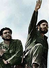 Che Guevara and Fidel Castro in 1961