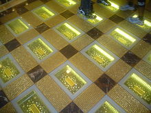 Gold Bars In China At The Grand Emperor Casino In Macau
