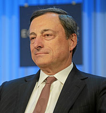 Mario Draghi Current Head Of The ECB