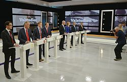 The Party Debate During The Last Elections In 2014