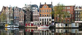 Amsterdam, Capital City Of The Netherlands
