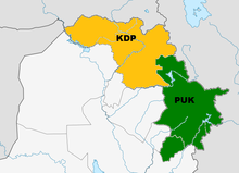 Geographic Areas Under Kurdish Control