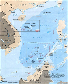 Chinese Land Claims In the South China Sea