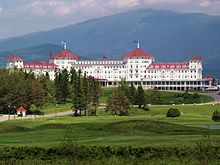 Mt. Washington Hotel In New Hampshire Site Of The Bretton Woods Conference