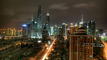 Shanghai, China Largest Port City In The Country