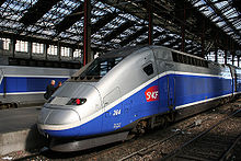 A TGV Duplex, Which Can Reach A Maximum Speed Of 320 km/h (198.84 mph).