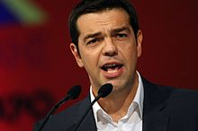 Syriza Party Chairman, And Present Leader Of Greece Alexis Tsipras