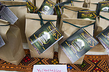 Ethiopian Blessed Coffee Brand Bags