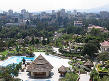 View Of The Capital Addis Ababa