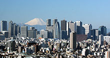 Financial center in Tokyo, theindustrial and political capital of Japan