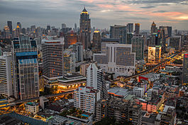 Bangkok is the commercial hub of Thailand