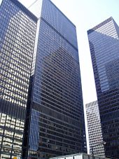 Toronto, the financial centre of Canada