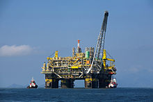P-51, an oil platform of Petrobras.