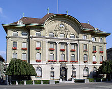 Swiss Central Bank in Bern