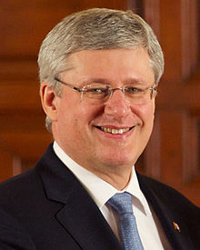 Incumbent P.M. Stephen Harper since February 6, 2006