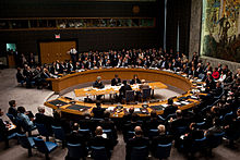 US President Barack Obama chairs a United Nations Security Council meeting