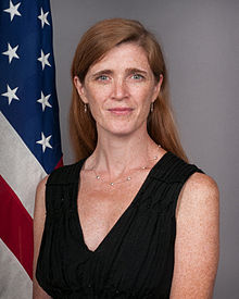 Samantha Power, 28th United States Ambassador to the United Nations