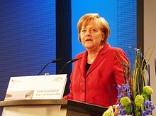 Chancellor Angela Merkel announced her goal to bring 1 million electric vehicles on German roads at the 2010 Electromobility Summit in Berlin