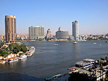 Cairo is the financial capital of Egypt.