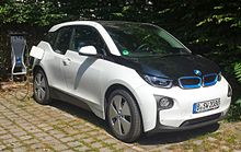 The BMW i3 led plug-in car registrations in 2014.