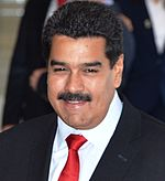 Nicolas Maduro, the current president