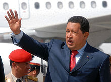 Hugo Chávez, president from 1999 until his death in 2013.