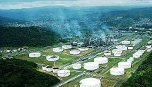 Oil Refineries in Esmeraldas Ecuador
