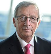 Incumbent President Juncker of the European Comission