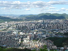 Anyang, Gyeonggi part of the Greater Seoul metropolitan area.