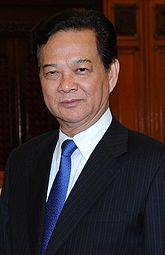 The incumbent Prime Minister of Vietnam Nguyen Tan Dung since 27 June 2006