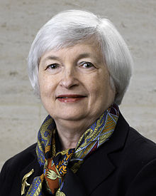 Janet Yellen 15th Chair of the U.S. Federal Reserve Bank