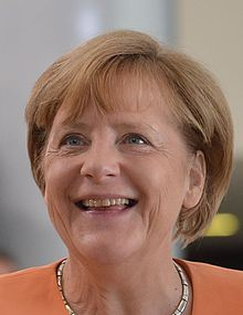 German Chancellor Merkel in 2015. Instrumental In Balancing Federal Budget & Paying Down National Debt In Germany