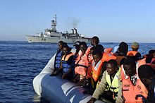 Rescued migrants are brought to southern Italian ports, 28 June 2015